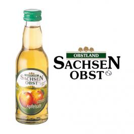 Sachsenobst Apfelsaft 12x0,2l Kasten Glas
