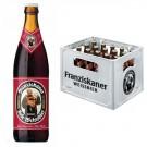 Franziskaner Weissbier Dunkel 20x0,5l Kasten Glas